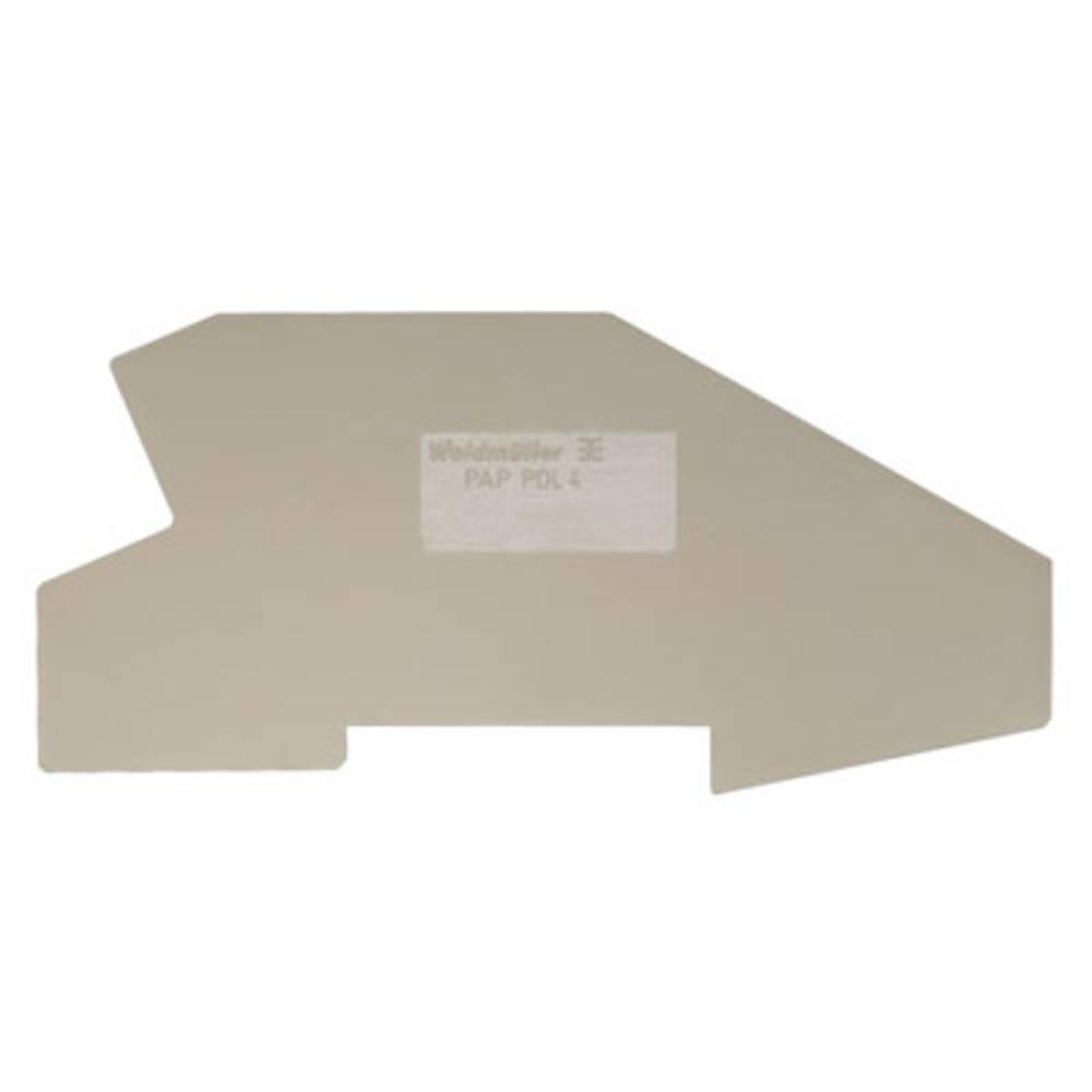 endeplade PAP 2.5/4/4AN BL 1052290000 Weidmüller 50 stk