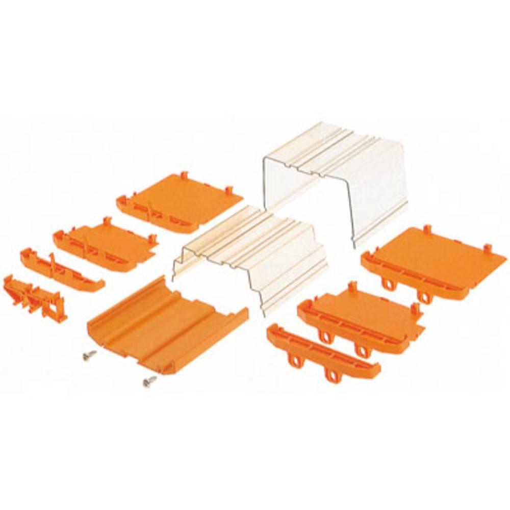 DIN-skinnekabinet sidedel Weidmüller AP 100 BK 108.2 x 27.2 x 23.8 20 stk