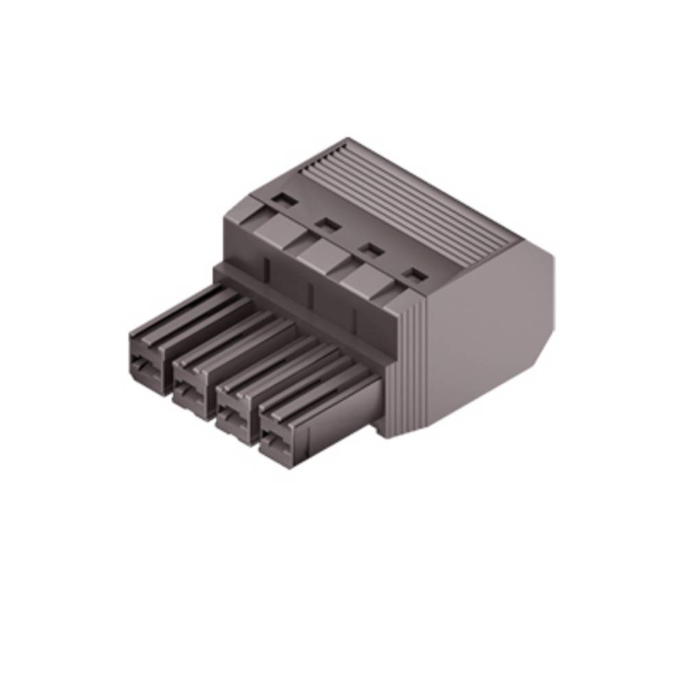 Tilslutningskabinet-kabel Samlet antal poler 3 Weidmüller 1060400000 Rastermål: 7.62 mm 65 stk