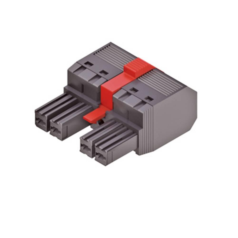 Tilslutningskabinet-kabel Samlet antal poler 2 Weidmüller 1060550000 Rastermål: 7.62 mm 65 stk