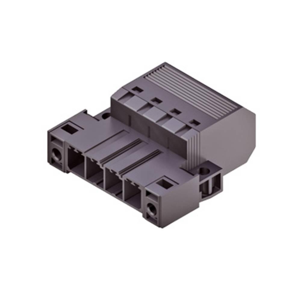 Stiftkabinet-kabel Samlet antal poler 2 Weidmüller 1060950000 Rastermål: 7.62 mm 50 stk