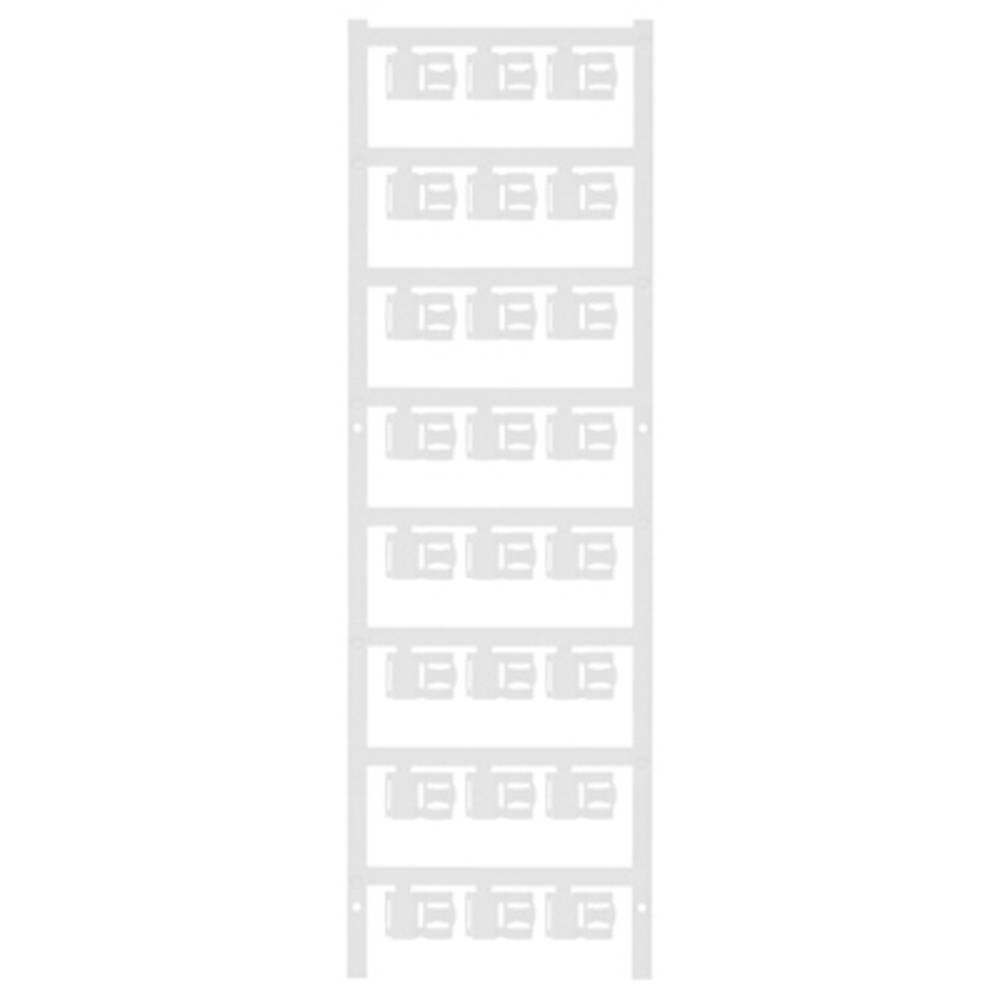 Markeringsophæng Weidmüller SFC 2.5/12 MC NE WS 1062000000 120 stk Antal markører 120 Hvid