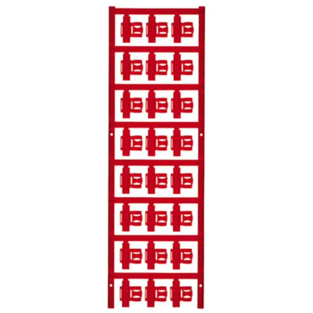 Markeringsophæng Weidmüller SFC 2.5/21 MC NE RT 1062080000 120 stk Antal markører 120 Rød