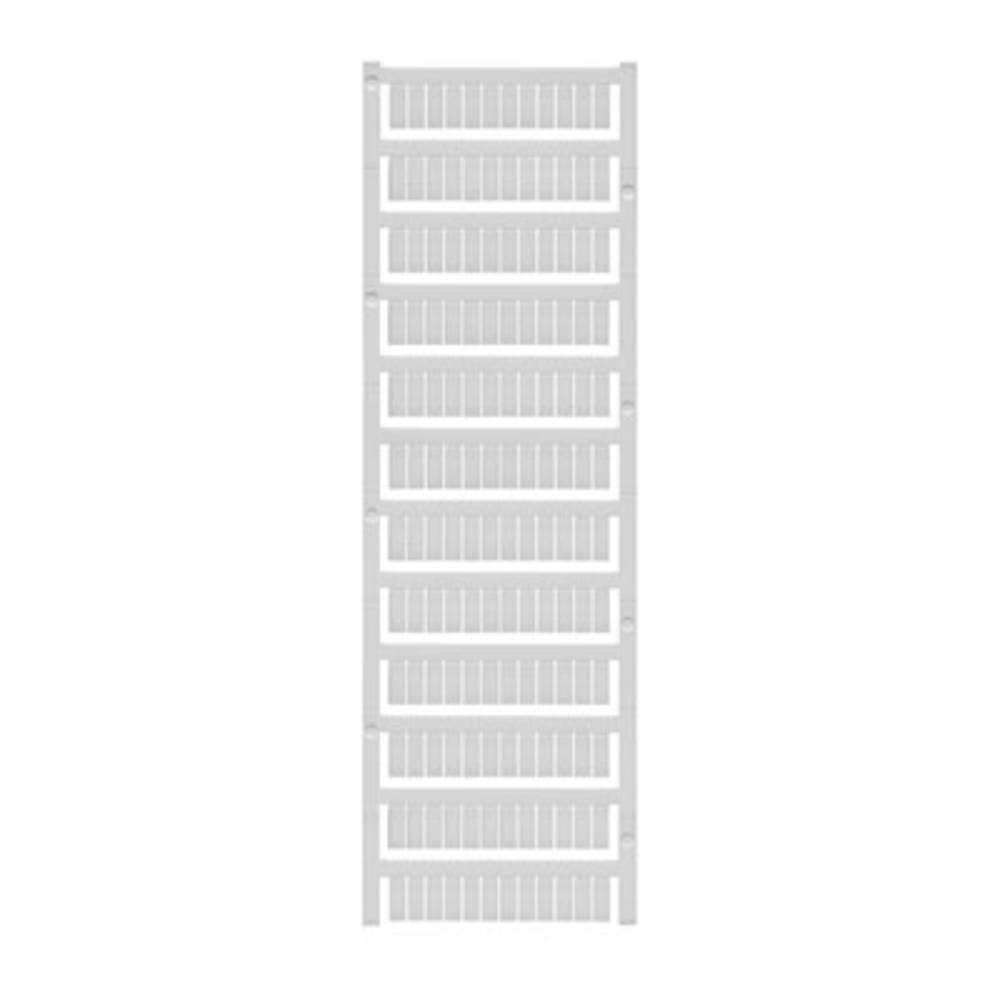 Enhed markører MultiCard WS 10/6 MC MIDDLE BL 1069080000 Atolblå Weidmüller 600 stk