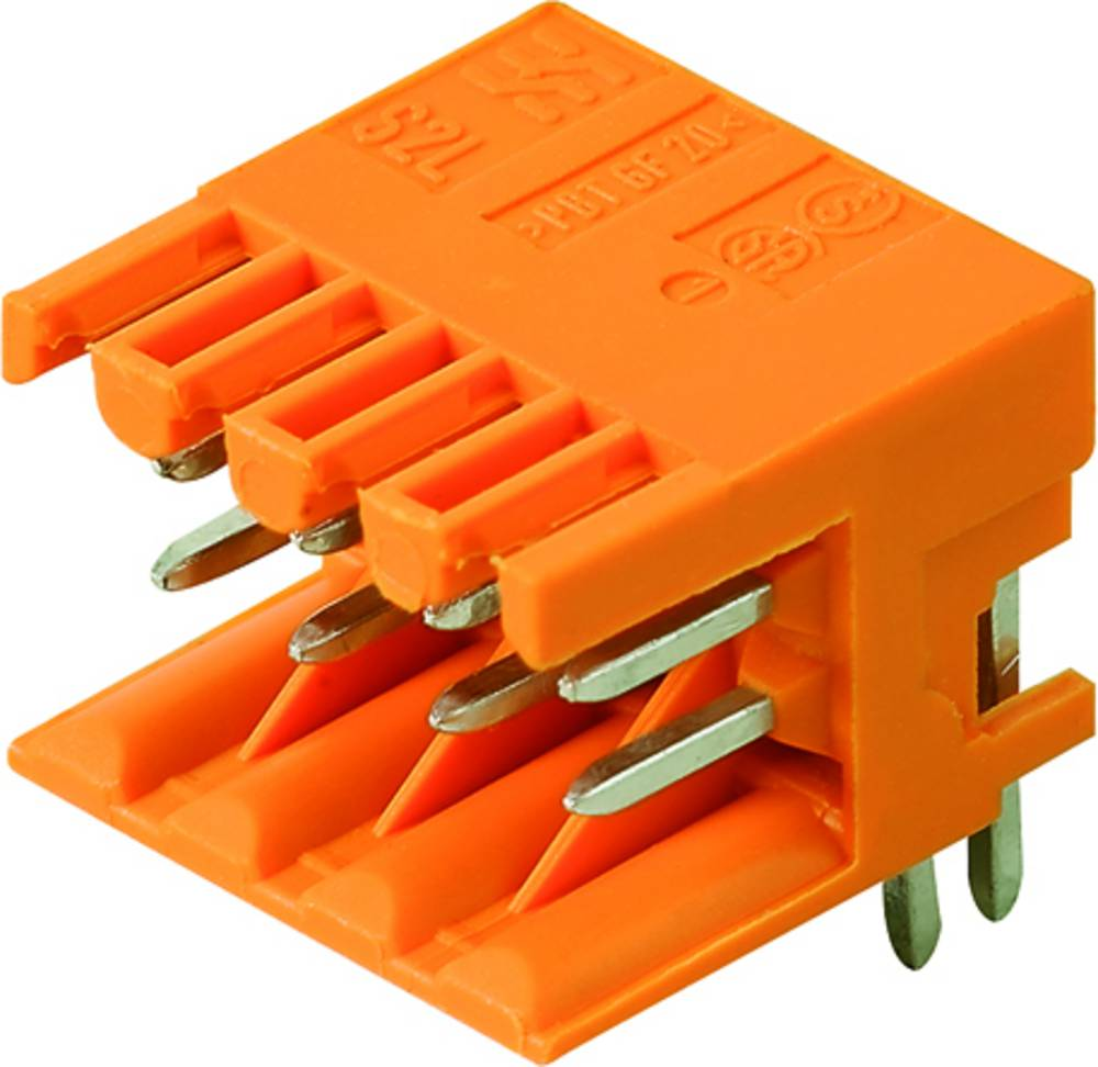 Vtični konektor za tiskana vezja črne barve Weidmüller 1807500000 vsebuje: 235 kosov