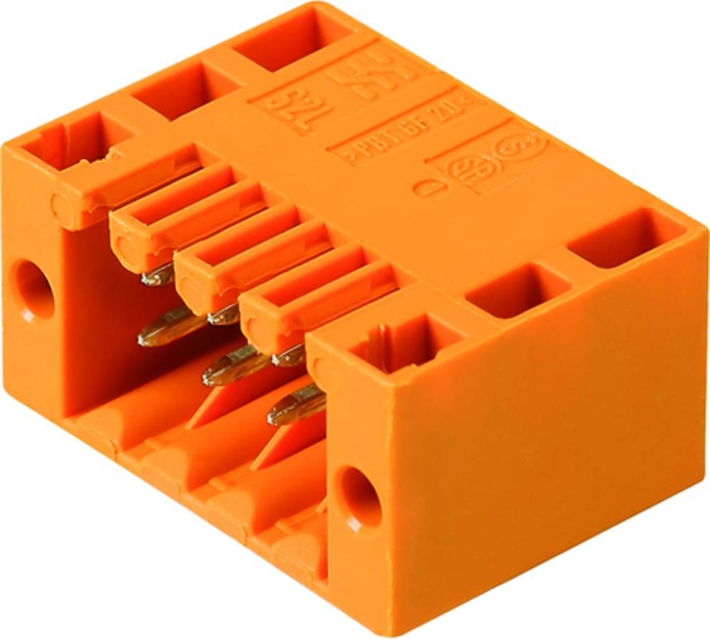 Vtični konektor za tiskana vezja črne barve Weidmüller 1807610000 vsebuje: 235 kosov