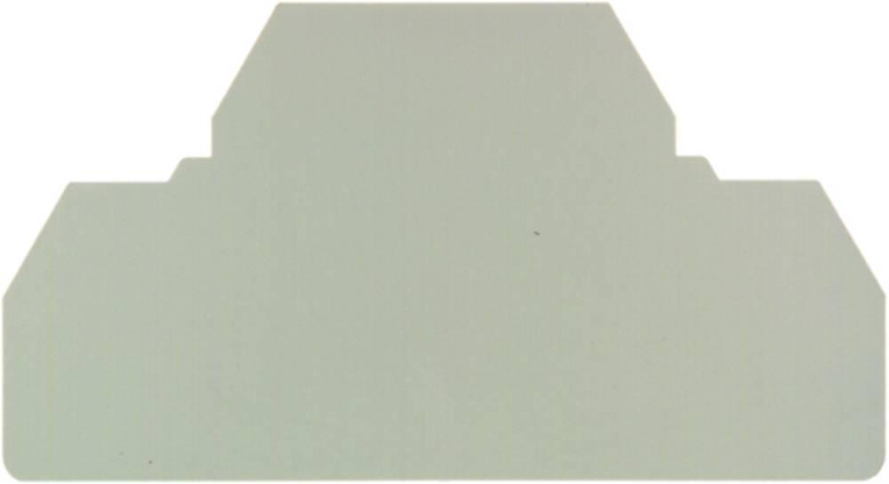 endeplade ZAP ZDU 4 S BL 1808390000 Weidmüller 20 stk