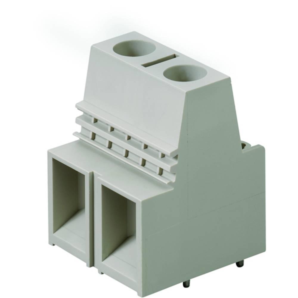 Skrueklemmeblok Weidmüller LX 15.00/06/90 4.5SN GY BX 25.00 mm² Poltal 6 Grå 10 stk