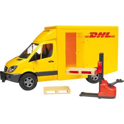bruder MB Sprinter DHL+Handhubwg.
