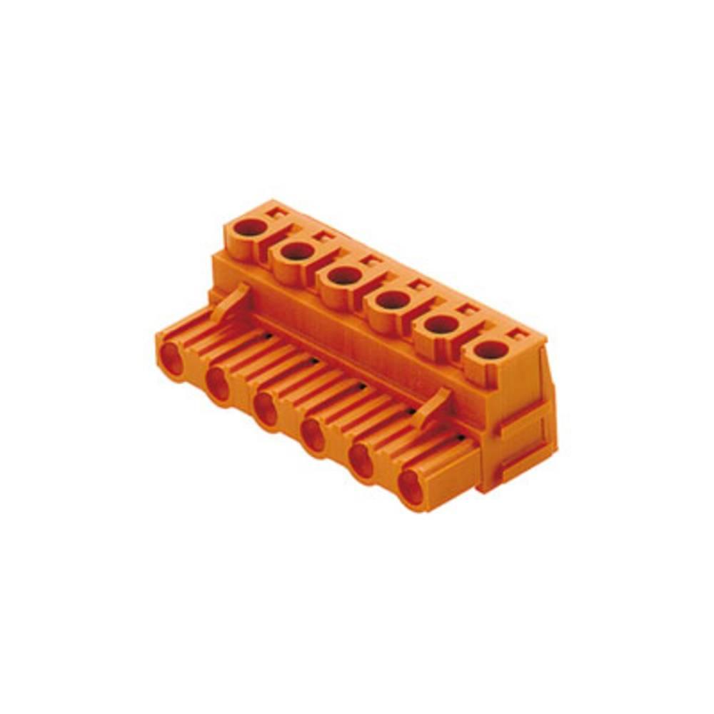 Priključne sponke, skupno število polov: 10 Weidmüller 1623460000 mere: 7.62 mm 30 kosov