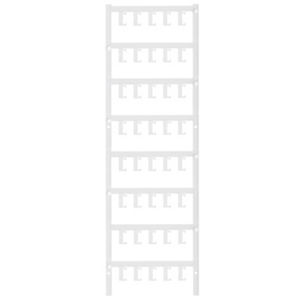 Makering af apparater Weidmüller ESG 6.6/11 BHZ 5.00/02 1082490000 200 stk Antal markører 200 Hvid