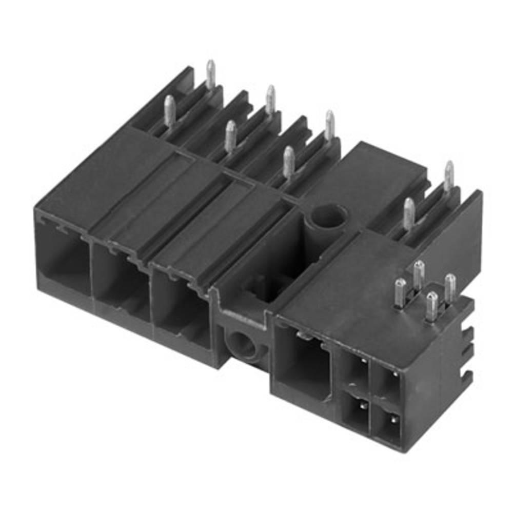 Vtični konektor za tiskana vezja črne barve Weidmüller 1090380000 vsebuje: 30 kosov