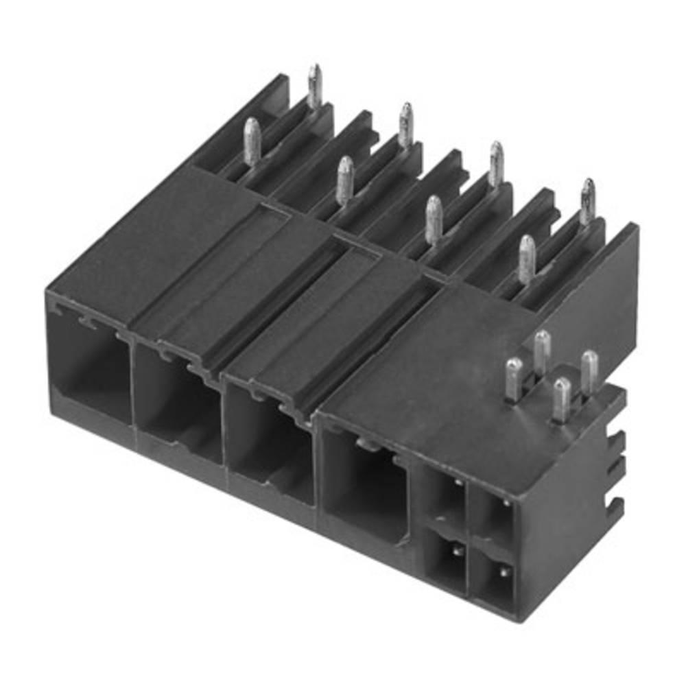Vtični konektor za tiskana vezja črne barve Weidmüller 1091120000 vsebuje: 48 kosov