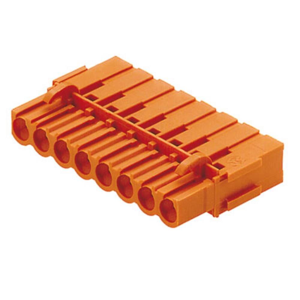Tilslutningskabinet-kabel BL/SL 5.08 Samlet antal poler 9 Weidmüller 1712180000 Rastermål: 5.08 mm 50 stk
