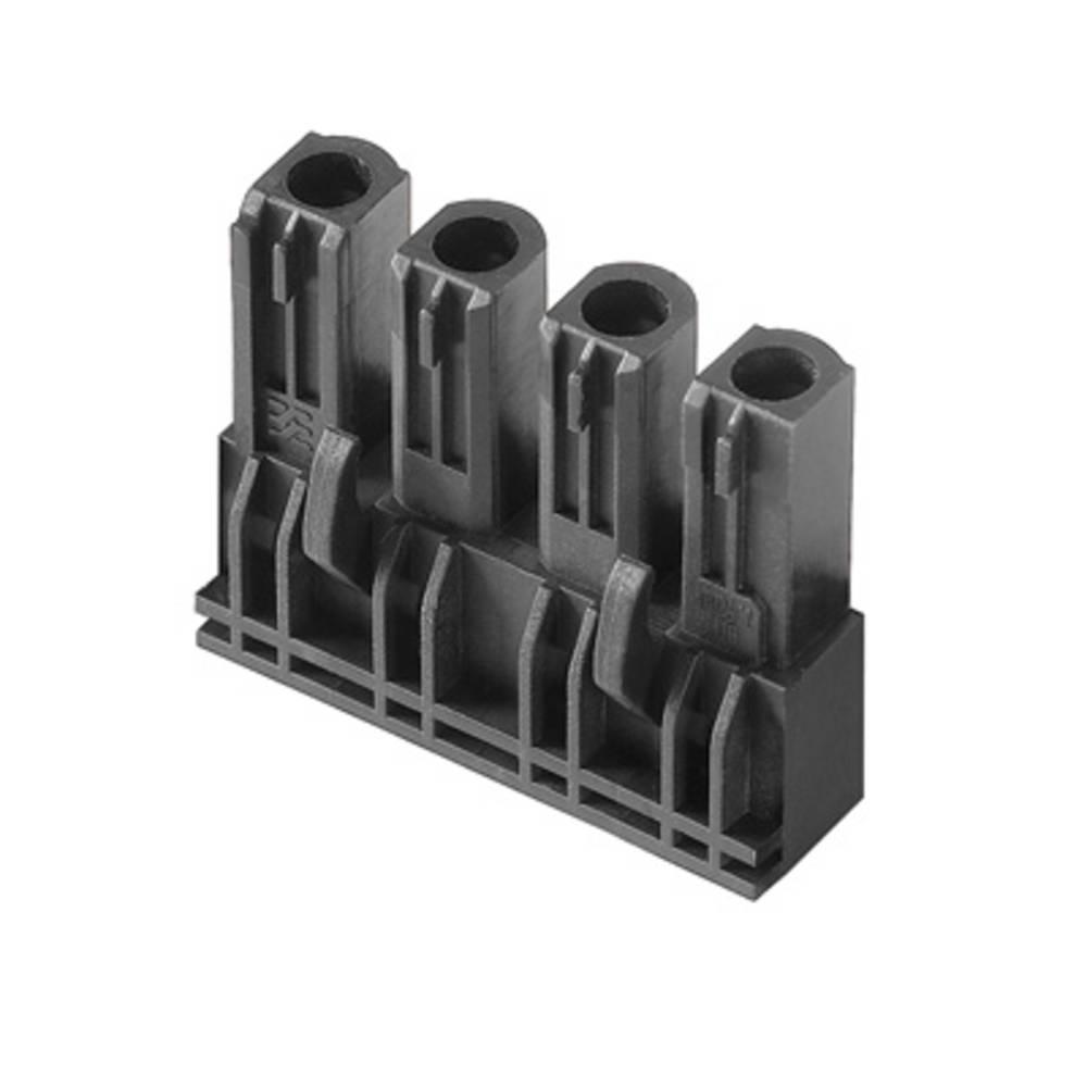 Vtični konektor za tiskana vezja črne barve Weidmüller 1122090000 vsebuje: 60 kosov
