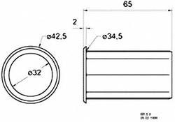 Visaton 5212 Bass reflex port 65 mm   Conrad com