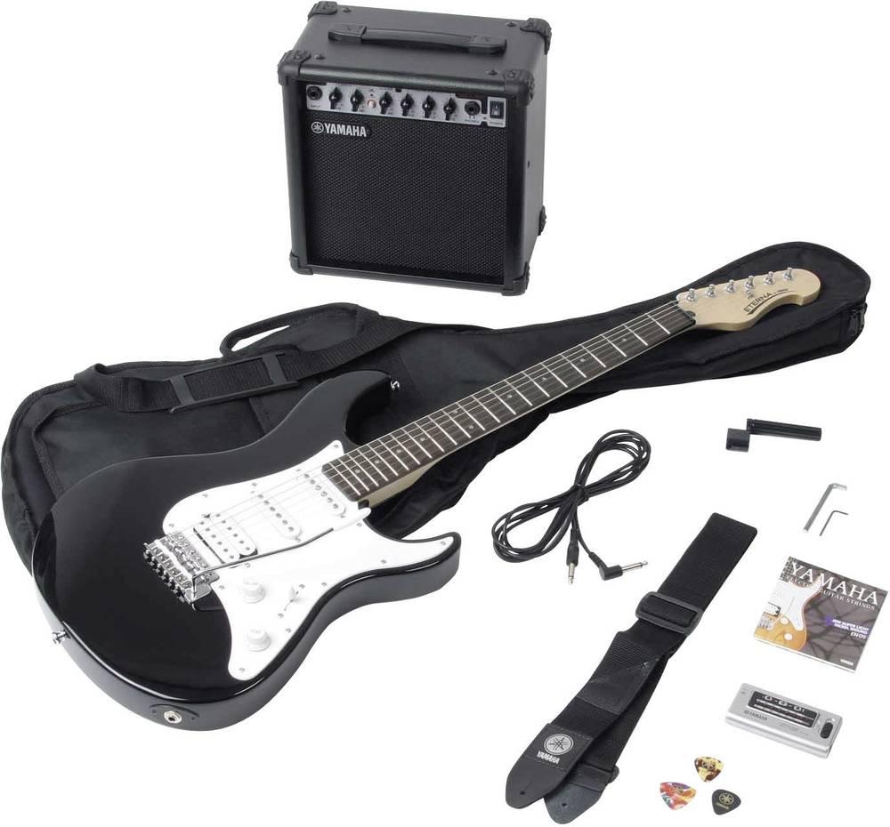 Electric Guitar Kit Yamaha Eg112gpiih Black White From Conrad Com