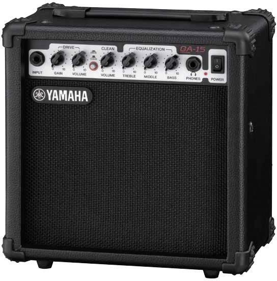 electric guitar amplifier yamaha ga 15. Black Bedroom Furniture Sets. Home Design Ideas