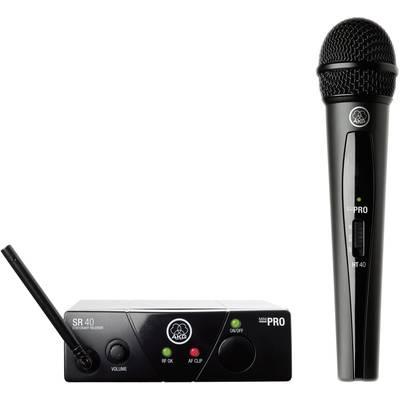 AKG WMS40Mini Vocal Set ISM2 Wireless microphone set Transfer type:Radio