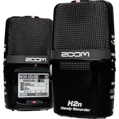 Portable audio recorder Zoom H2n Black