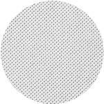 Stretched Speaker Cover Fabric White (L x W) 200 cm x 75 cm