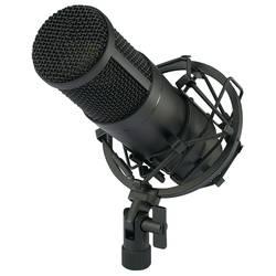 USB-studiemikrofon Renkforce CU-4 Bredbånd Inkl. kabel, Inkl. kuffert , Inkl. spinder