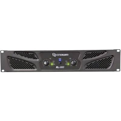 Crown XLI 800 PA amplifier RMS power per channel (at 4 Ohm): 300 W