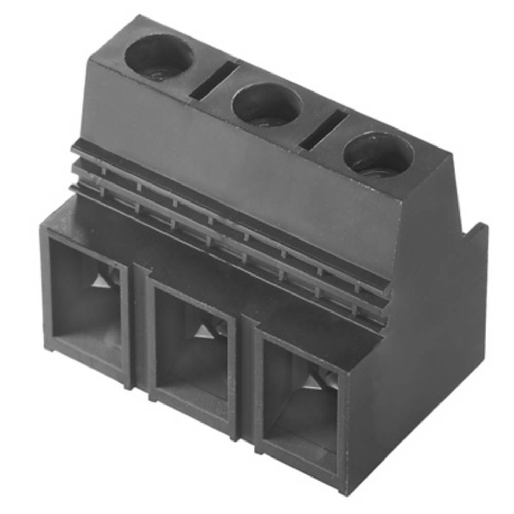 Skrueklemmeblok Weidmüller LX 15.00/03/90 4.5SN BK BX 25.00 mm² Poltal 3 Sort 20 stk