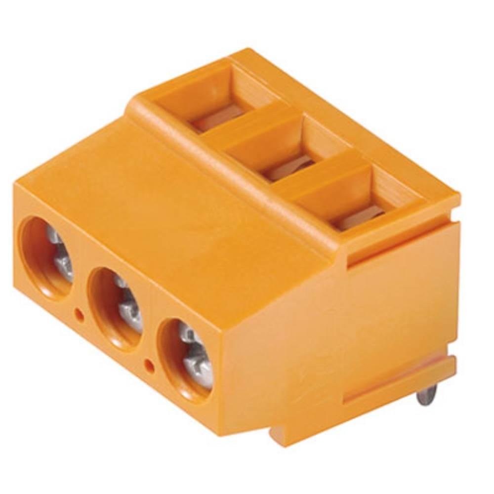 Skrueklemmeblok Weidmüller LM 5.08/23/180 3.5SN OR BX 2.50 mm² Poltal 23 Orange 50 stk
