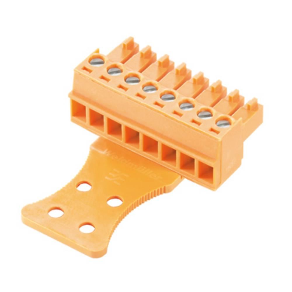 Vtični konektor za tiskana vezja Weidmüller 1236440000 vsebuje: 50 kosov