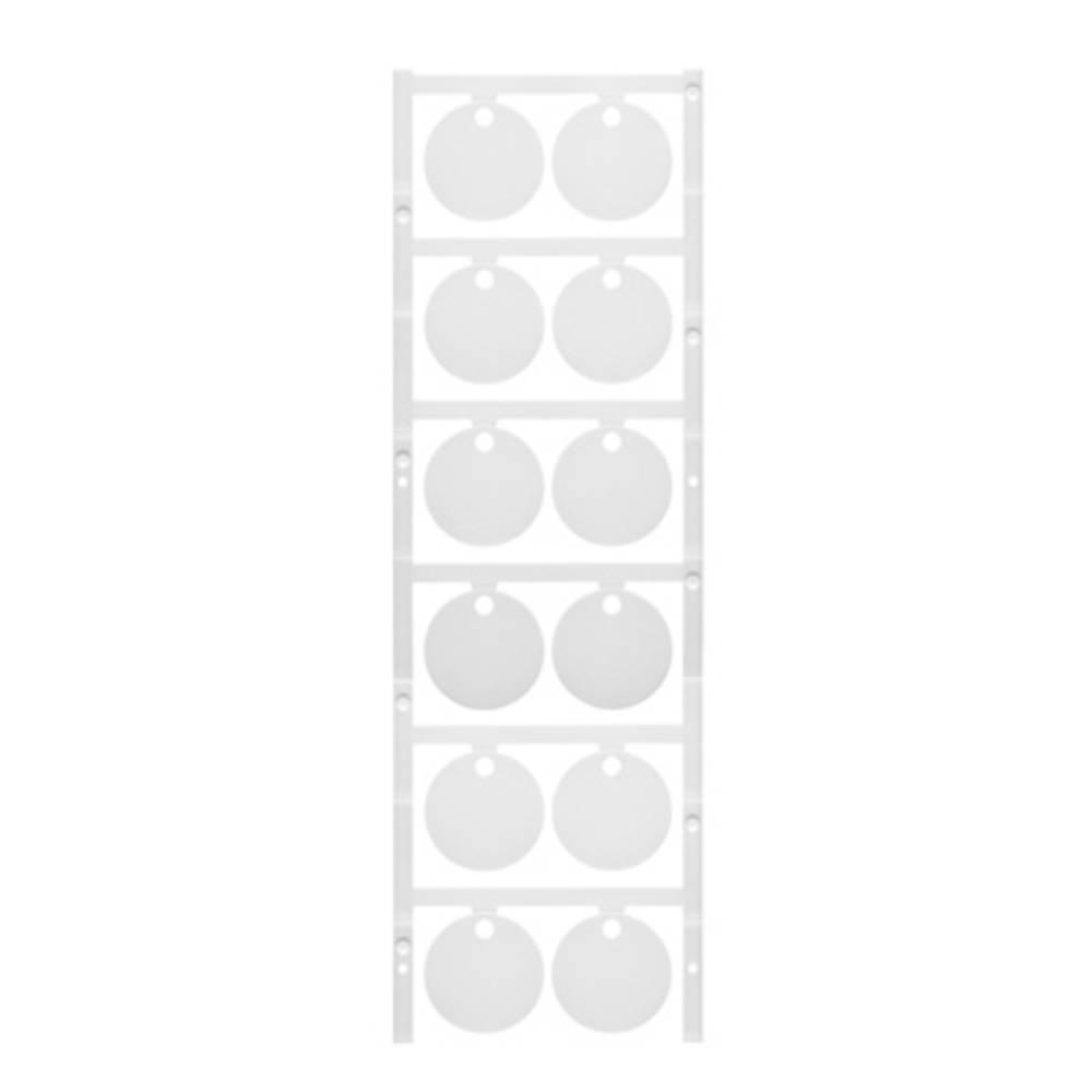 Makering af apparater Weidmüller CC DIA 30/4.2 MC NE WS 1248520000 60 stk Antal markører 60 Hvid