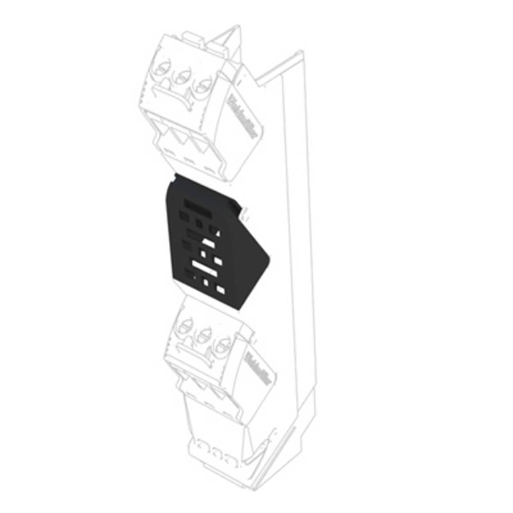 DIN-skinnekabinet dæksel Weidmüller CH20M AD SHL 5.00/03 BK 14.5 x 17.5 x 23.7 50 stk