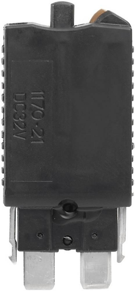 Standard fladsikring 0.5 A Sort Weidmüller ETA 1180 01 0.5A 1278910000 5 stk