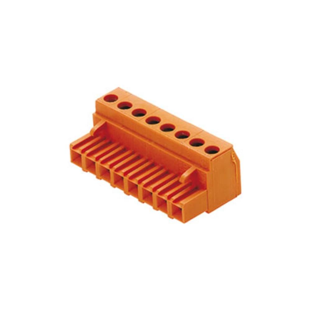 Tilslutningskabinet-kabel BLA/SLA 5.08 Samlet antal poler 10 Weidmüller 1282560000 Rastermål: 5.08 mm 36 stk