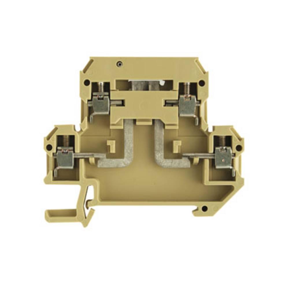 Afbryd og modulær afbryde terminal Weidmüller DKT 4V/35 2STB 1304960000 100 stk