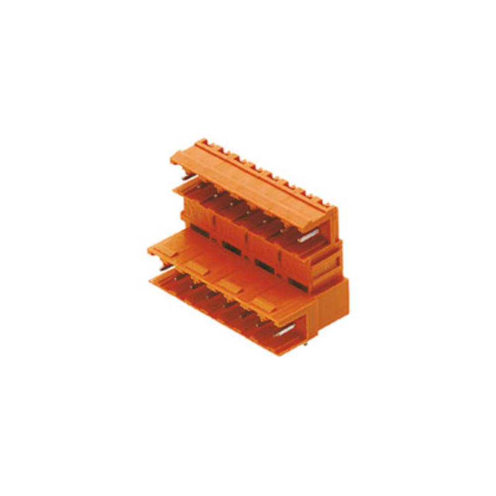 Tilslutningskabinet-printplade BLA/SLA 5.08 Samlet antal poler 32 Weidmüller 1373660000 Rastermål: 5.08 mm 10 stk