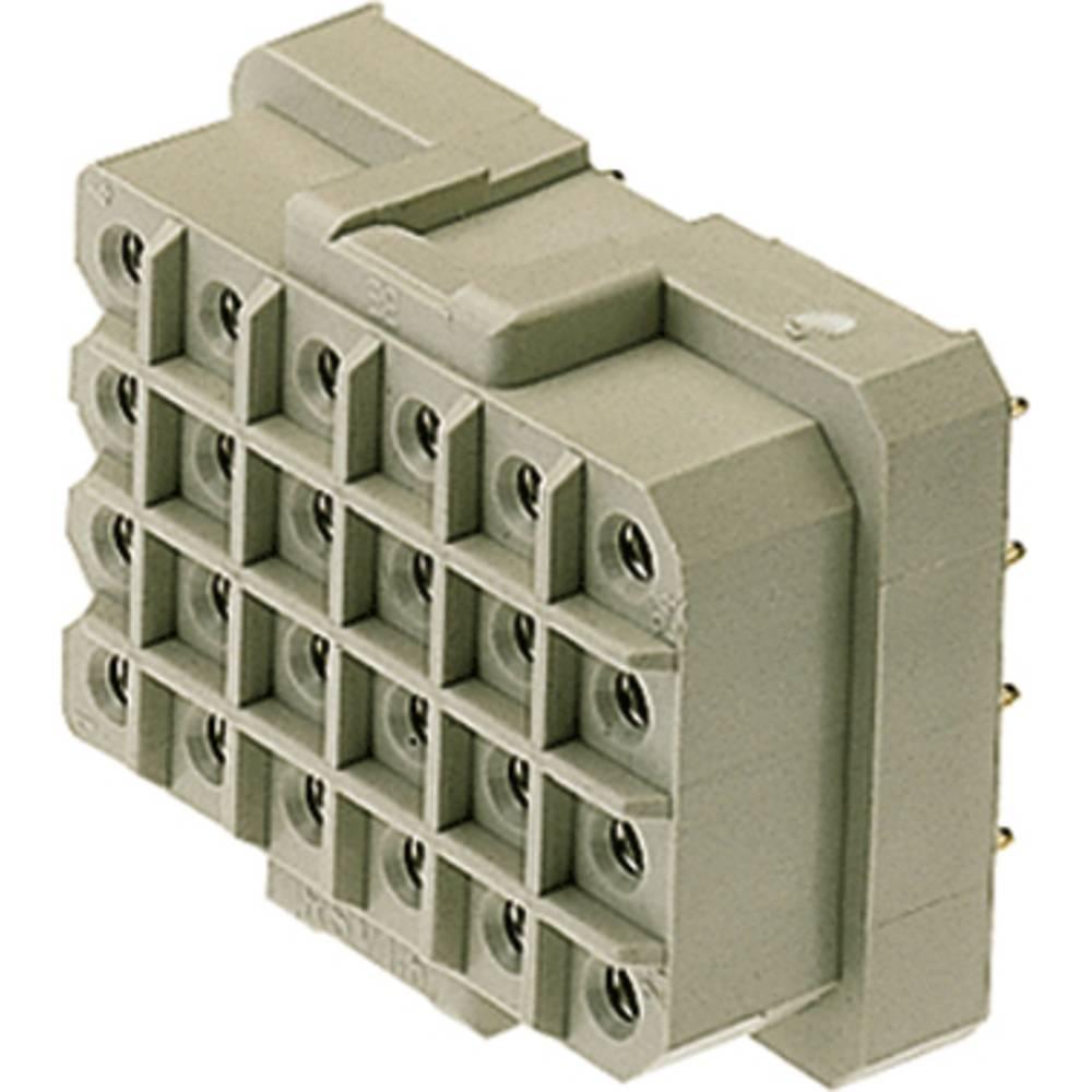 Konektor tiskanega vezja Weidmüller vsebuje: 25 kosov