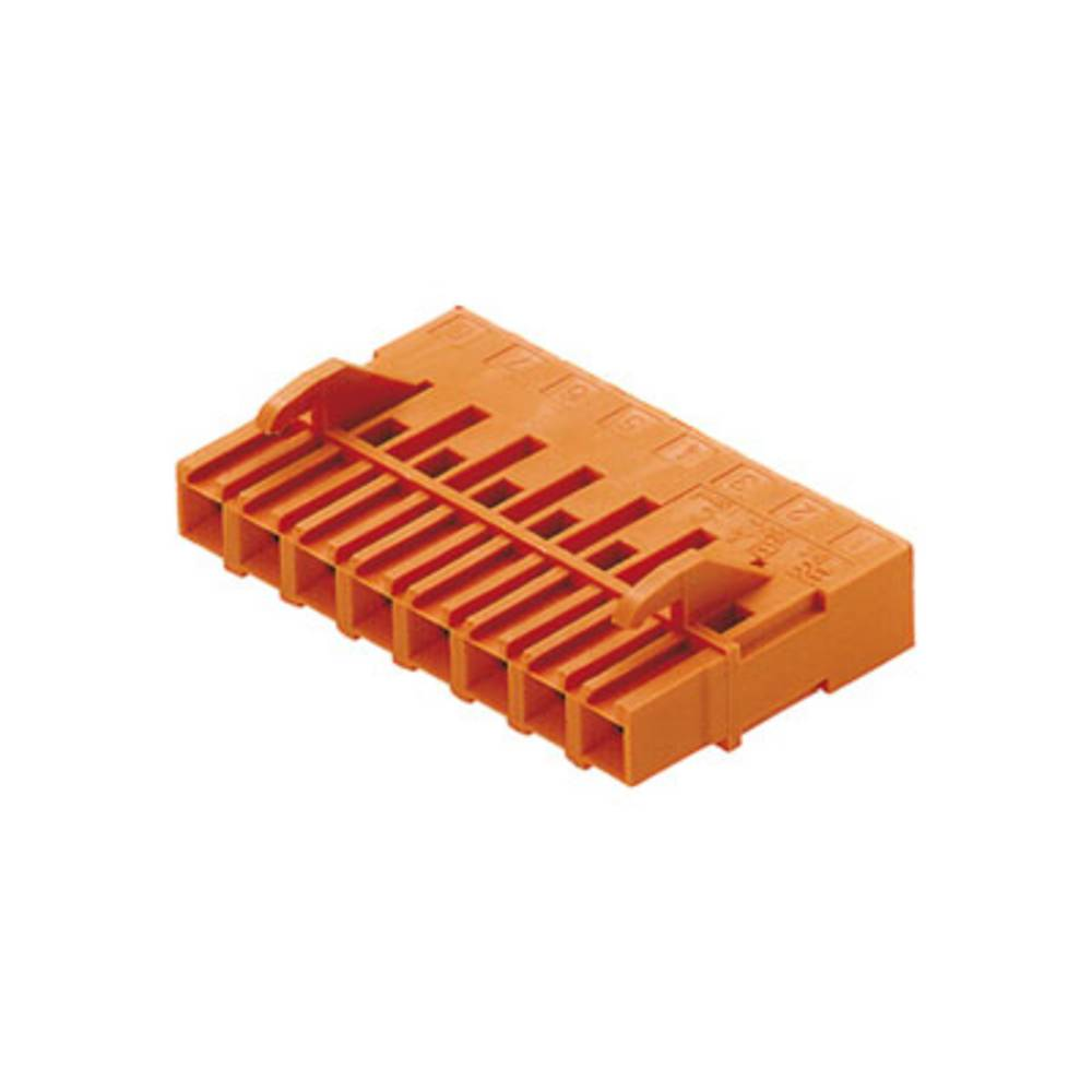 Tilslutningskabinet-kabel BLA/SLA 5.08 Samlet antal poler 13 Weidmüller 1601120000 Rastermål: 5.08 mm 50 stk