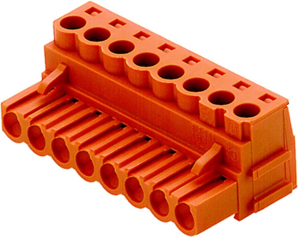 Priključne sponke, skupno število polov: 3 Weidmüller 1528860000 mere: 5.08 mm 100 kosov