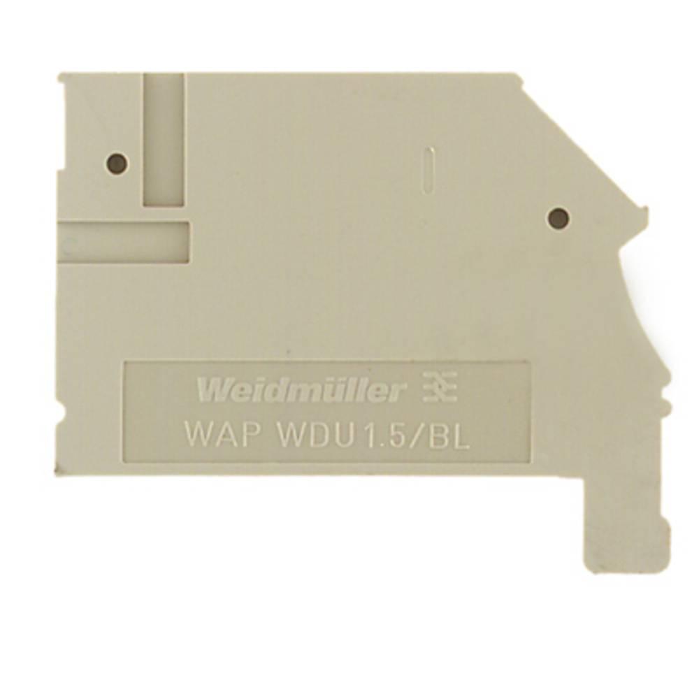 endeplade WAP WDU1.5/BLZ/ZA 1577320000 Weidmüller 50 stk