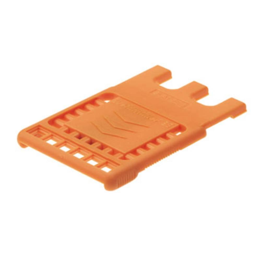 Konektor tiskanega vezja BLAT ZE4 OR Weidmüller vsebuje: 50 kosov