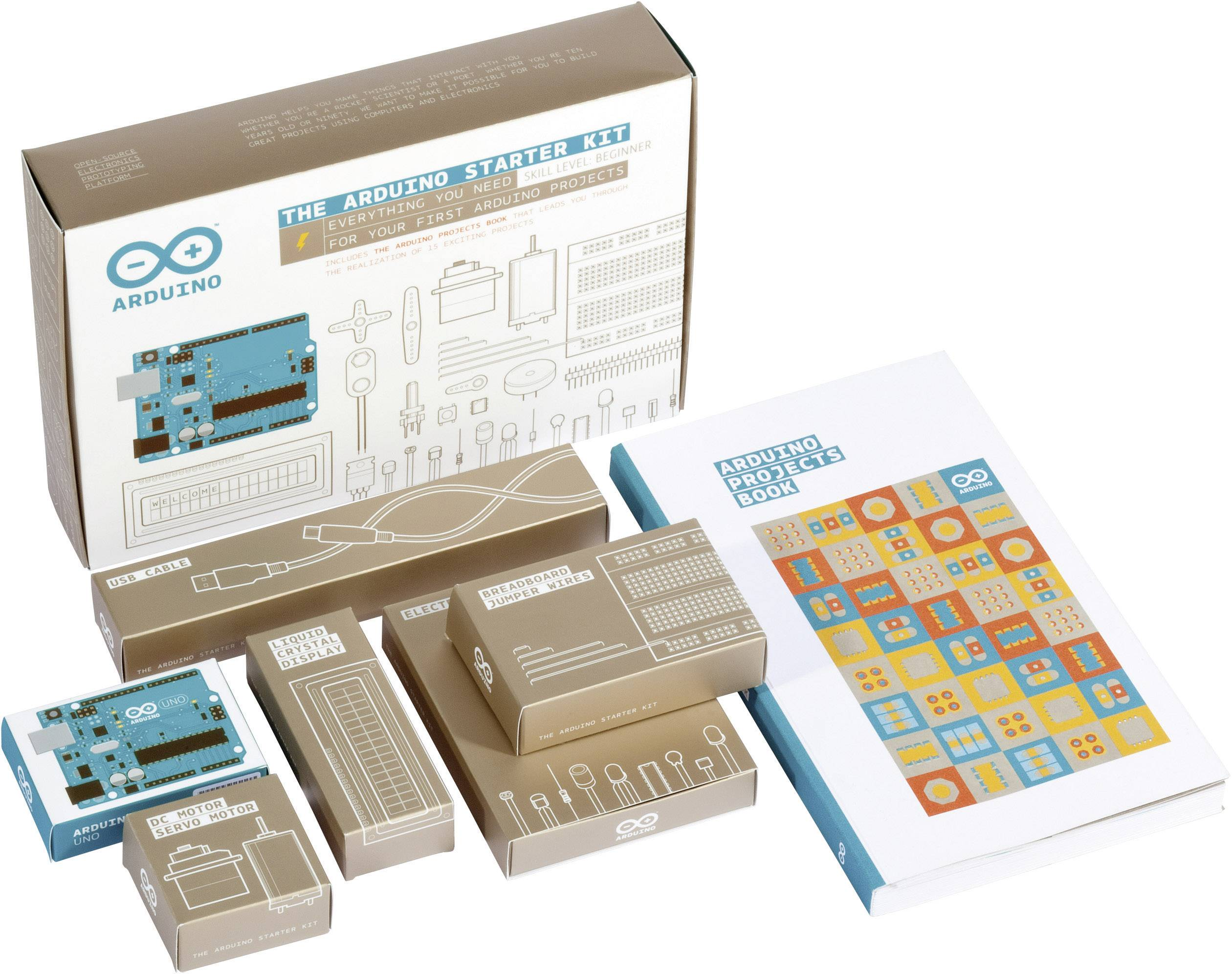 English Official Kit With 170 Page Book Arduino Starter Kit K000007