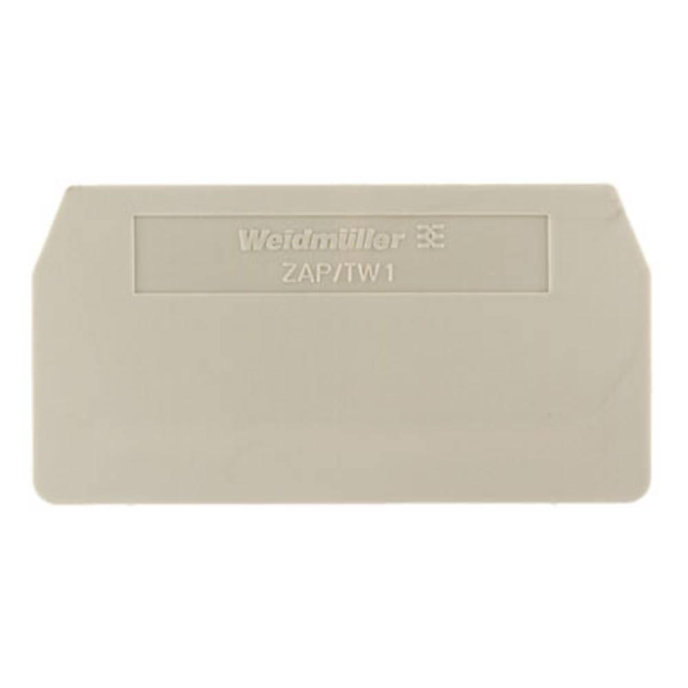 endeplade ZAP/TW 1 1608740000 Weidmüller 50 stk