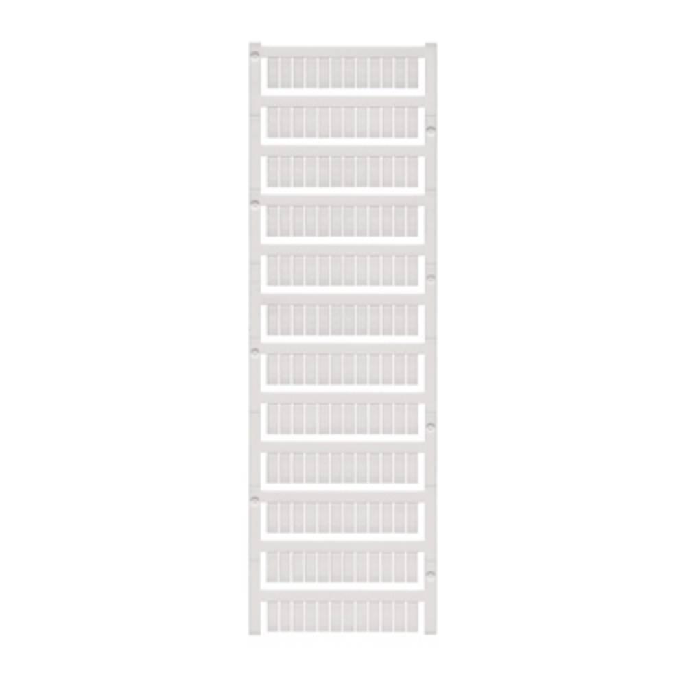 Enhed markører MultiCard WS 12/6 MC NEUTRAL 1609900000 Hvid Weidmüller 600 stk
