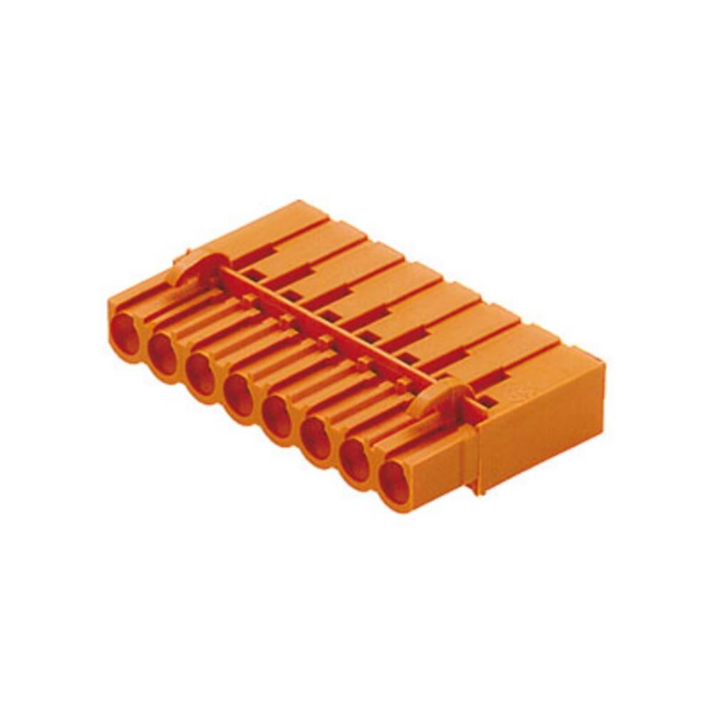 Tilslutningskabinet-kabel BL/SL 5.08 Samlet antal poler 3 Weidmüller 1610500000 Rastermål: 5.08 mm 100 stk