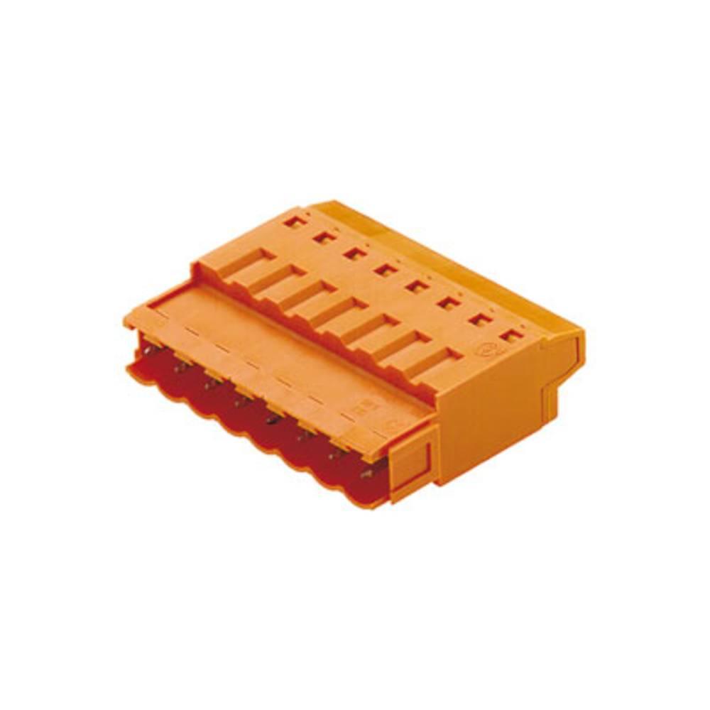 Konektor tiskanega vezja Weidmüller vsebuje: 100 kosov