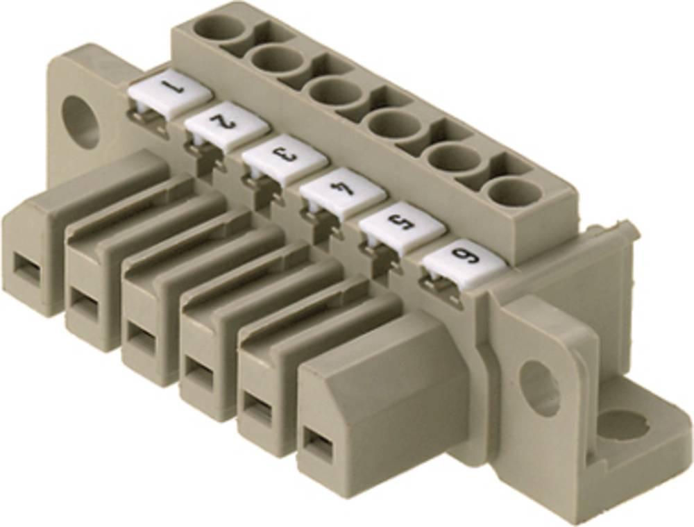 Vtični konektor za tiskana vezja, mere: 7.00 mm število polov:: 7 Weidmüller 1612110000 vsebuje: 10 kosov