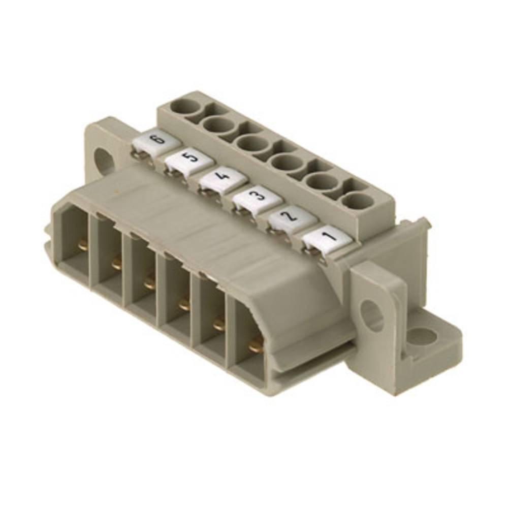 Vtični konektor za tiskana vezja, mere: 7.00 mm število polov:: 4 Weidmüller 1612520000 vsebuje: 10 kosov