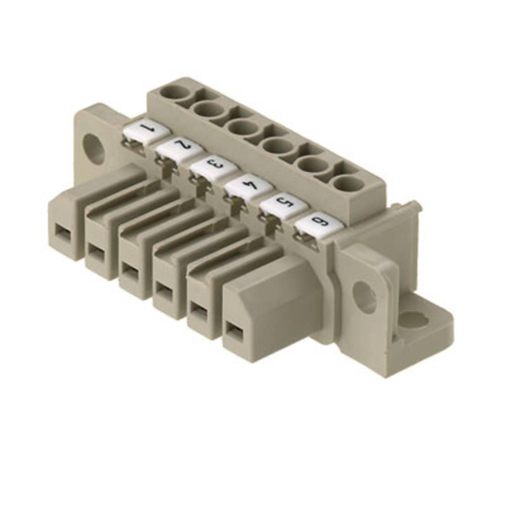 Stiftkabinet-kabel Samlet antal poler 2 Weidmüller 1612490000 Rastermål: 7 mm 10 stk