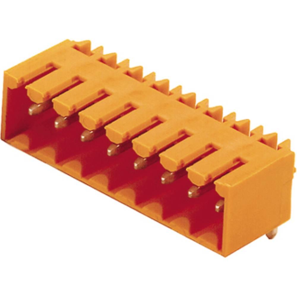 Vtični konektor za tiskana vezja črne barve Weidmüller 1615430000 vsebuje: 100 kosov